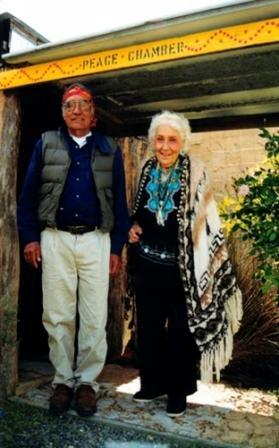 16 Joseph and Olga at Casurina in 1999